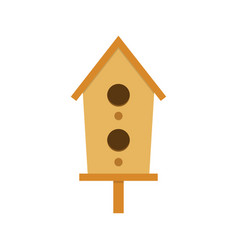nesting box on a white background vector image