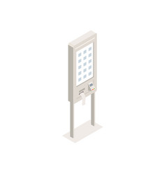 Self service kiosk interface vector