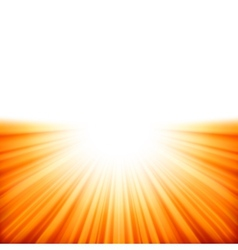 sunburst rays sunlight template eps 10 vector image