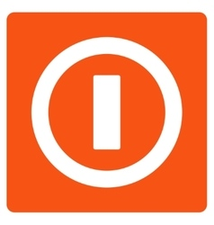 Turn Off Flat Icon vector