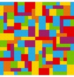 Block Seamless Pattern vector image