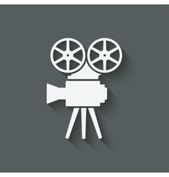 camera design element vector image vector image
