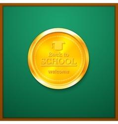 Back to school congratulations vector