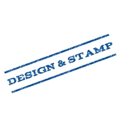 Design Stamp Watermark Stamp vector image
