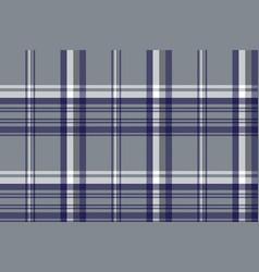 gray diagonal plaid seamless pattern vector image