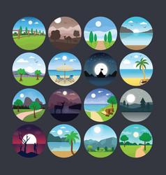 Landscape 6 vector