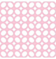 seamless pattern with pink elements vector image