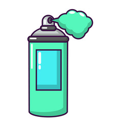 spray paint icon cartoon style vector image