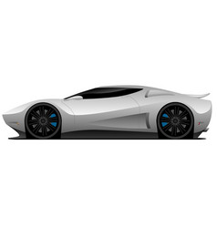 super car vector image
