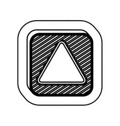 Empty square icon vector image