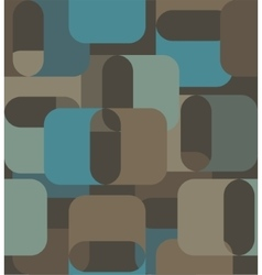 Geometric shapes in the sixties style vector image