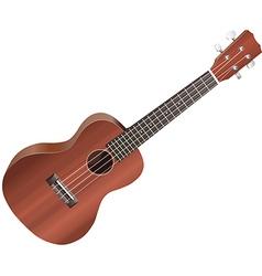 ukulele vector image vector image