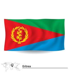 Flag of Eritrea vector image
