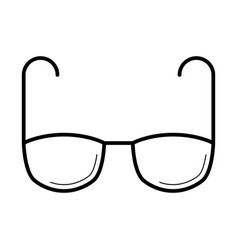 Eyeglasses for vision correction icon vector