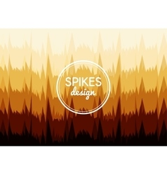 Background sharp spikes vector