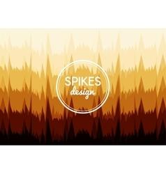 Background sharp spikes vector