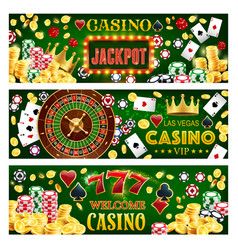 Casino poker big win wheel fortune jackpot vector