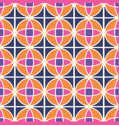 Ethnic seamless patterns colorful design for vector