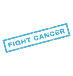 Fight Cancer Rubber Stamp vector