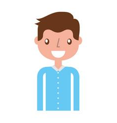 handsome icon boy vector image