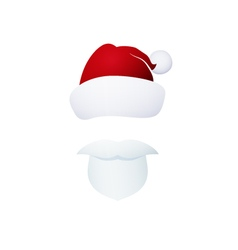 Santa Claus Isolated on White vector image