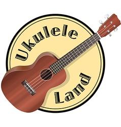 Ukulele Logo vector