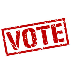 Vote stamp vector