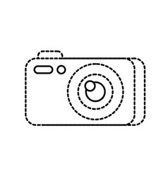 photography camera gadget studio equipment vector image vector image