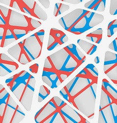 3D Web with Shadows Abstract Background EPS10 vector