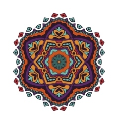 Colorful mandala design vector