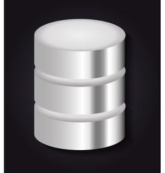 Data center icon Technology design vector