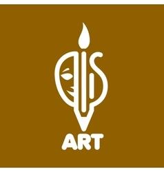 Logo art vector