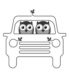 OWL CAR vector