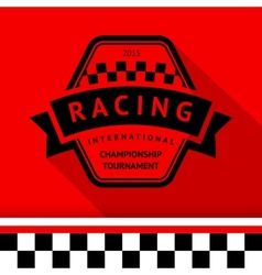 Racing stamp-09 vector