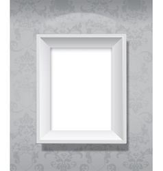 picture frame hanging vector image