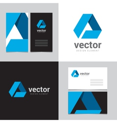 logo design element 01 vector image vector image