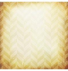 Vintage chevron pattern old paper background vector image vector image