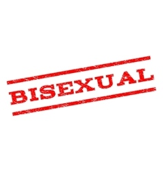 Bisexual Watermark Stamp vector