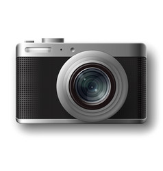 compact photo camera vector image vector image