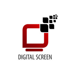 digital screen logo concept design symbol graphic vector image