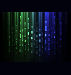 Green blue overlap pixel speed abstract background vector