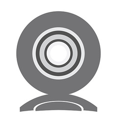 Isolated web cam icon vector