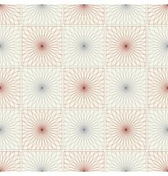 Spirograph seamless pattern vector