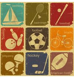 sport icon color vector image