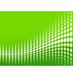 green halftone background vector image vector image