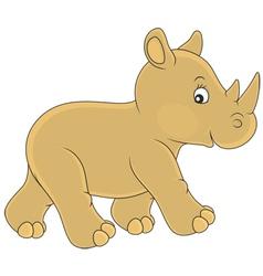 Rhino vector image vector image