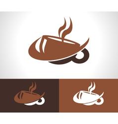 Coffee Cup Logo Icon vector image vector image