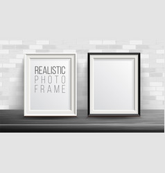 3d photo frame set good for your vector