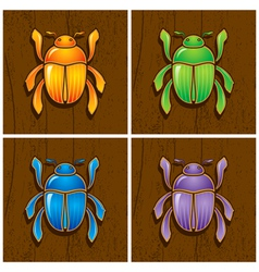 beetles vector image