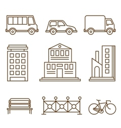 Design Elements for City or Map vector